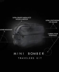 Mini Bomber Travelers Kit