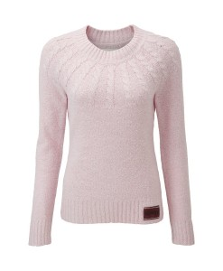 Superdry Pastel Pink Propeller Crew W A02