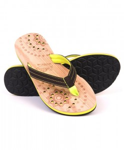 Zohula Hoku Lime Flip Flops 01