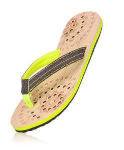 Zohula Hoku Lime Flip Flops 02