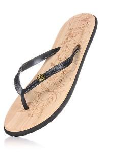 Zohula Ola Black Flip Flops 01