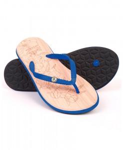 Zohula Ola Blue Flip Flops
