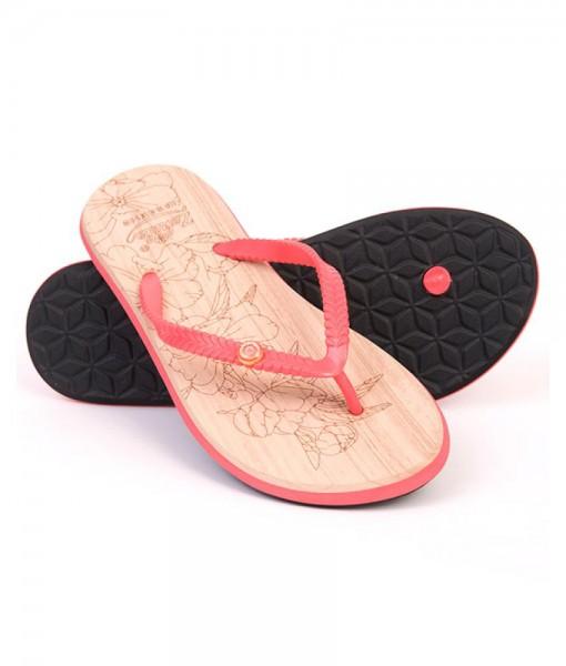 Zohula Ola Coral Flip Flops