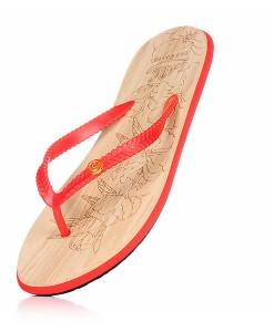 Zohula Ola Red Flip Flops 01