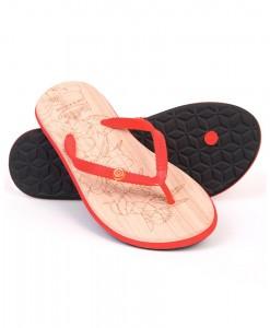 Zohula Ola Red Flip Flops