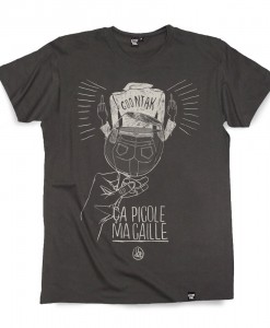 T-shirt PICOLE MA CAILLE Coontak