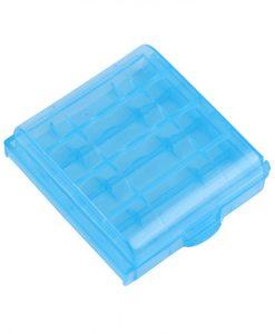 Boîte de rangement pour Piles AA/AAA Altaica Bleu