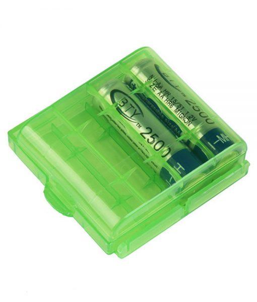 Boîte de rangement pour Piles AA/AAA Altaica Vert