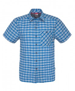 Chemise The North Face Hypress SS Drummer Blue  D01