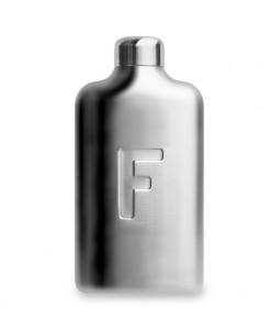 Fred Water Flask Brushed Stainless Steel