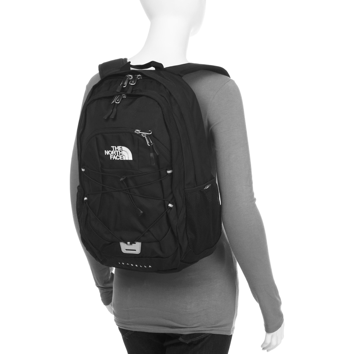 3b93bec3d2 Sac à dos The North Face Isabella Noir Femme F01