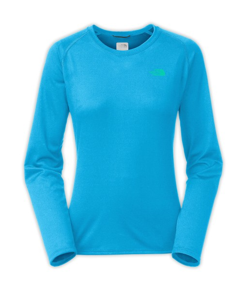 T-shirt à manches longues The North Face Reaxion Meridian Blue