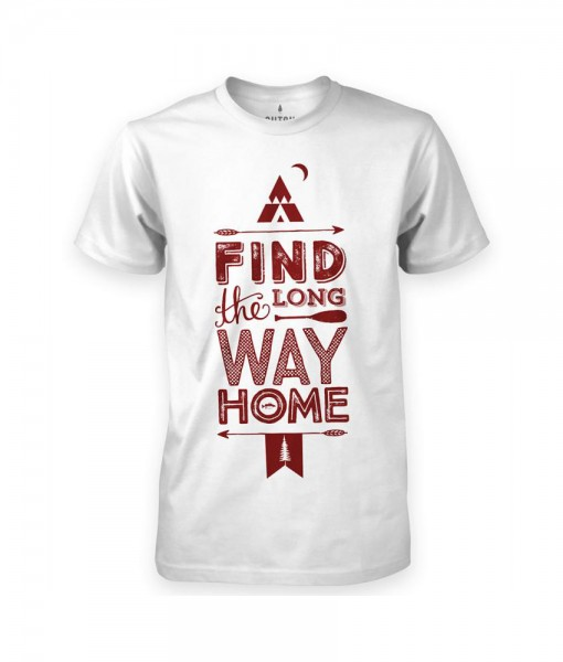 T-shirt Sutsu Find The Long Way Home W