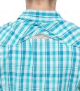 The North Face Boulder Kassie Shirt Ion Blue Plaid D01