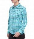 The North Face Boulder Kassie Shirt Ion Blue Plaid D02