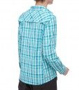 The North Face Boulder Kassie Shirt Ion Blue Plaid D04