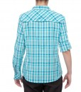 The North Face Boulder Kassie Shirt Ion Blue Plaid D07