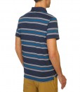 The North Face Mens Hike Polo Shirt Cosmic Blue T04