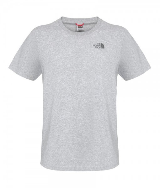 The North Face T-Shirt Dome Biker Heather Grey  D02