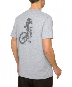 The North Face T-Shirt Dome Biker Heather Grey  D04