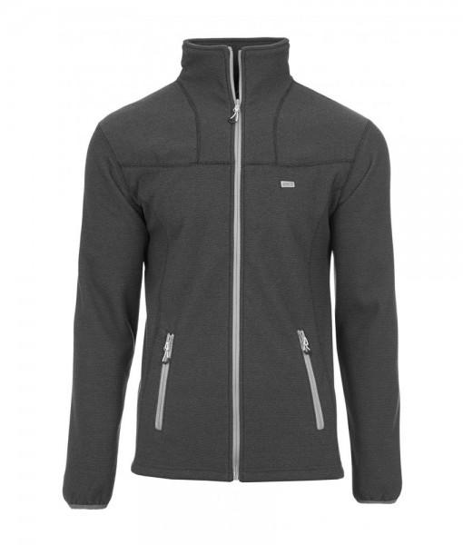 2117 of Sweden 3D Storklinten fleece jacket Black H01