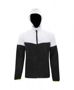 2117 of Sweden Linköping Hybrid Hood Jacket Black