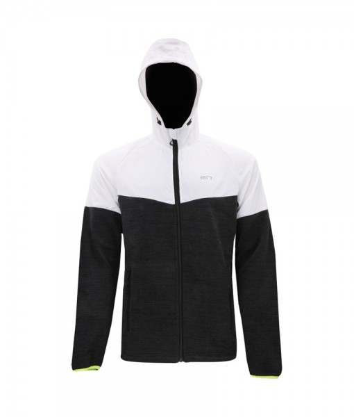 2117 of Sweden Linköping Hybrid Hood Jacket Black