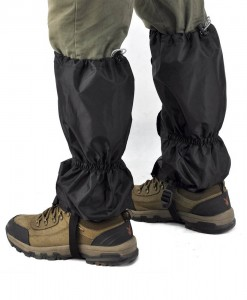 Highlander Walking Gaiters Black H01