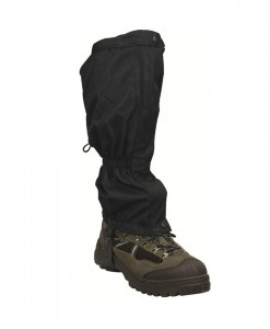 Highlander Walking Gaiters Black H03