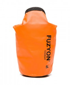 Sac étanche Fuzyon Outdoor 5L Orange D01