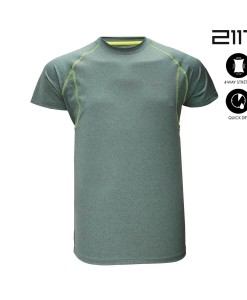 T-Shirt 2117 of Sweden Vargön Moss Green Mel 02