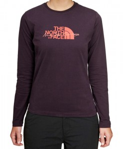 T-Shirt The North Face Statement LS Baroque Purple D01
