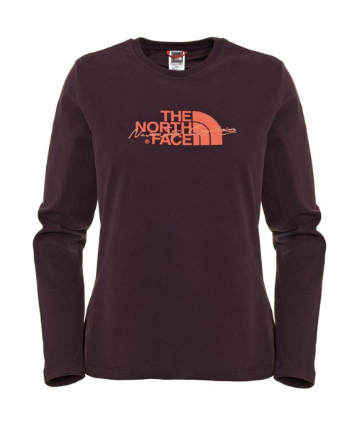 T-Shirt The North Face Statement LS Baroque Purple D04