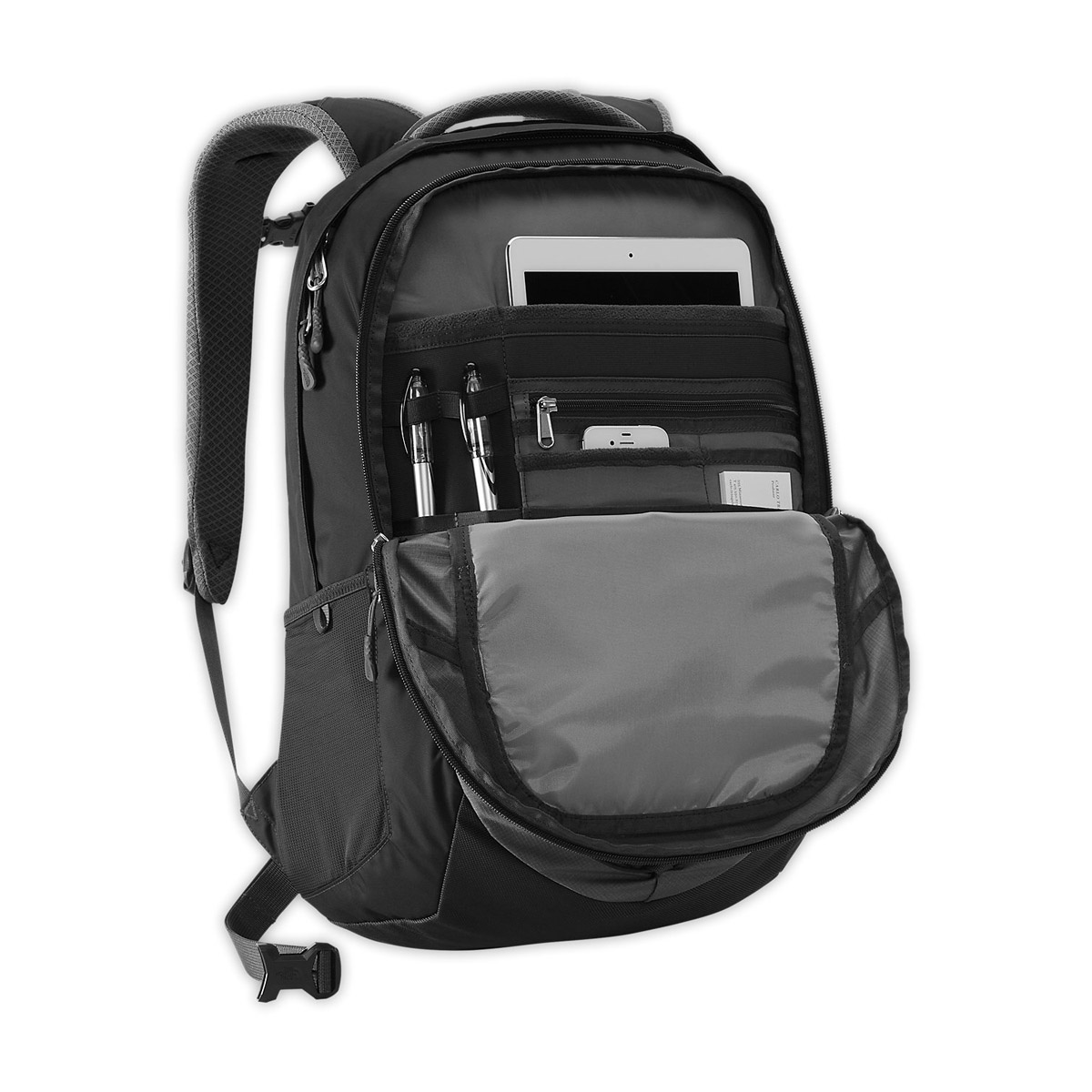 628917923d Sac à dos The North Face Borealis Black | Terres Extrêmes