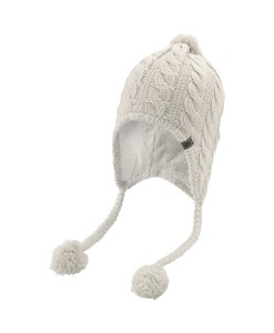 The North Face Fuzzy Earflap-Beanie Vaporous Grey F00