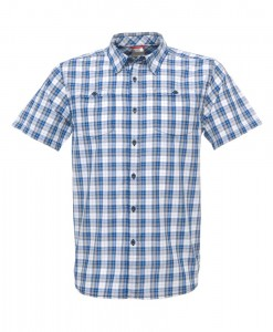 The North Face Sentinel Spire Woven SS Shirt Nautical Blue