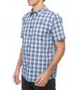 The North Face Sentinel Spire Woven SS Shirt Nautical Blue F03
