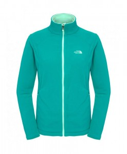 Veste Polaire zippée 100 Glacier The North Face Jaiden Green S02