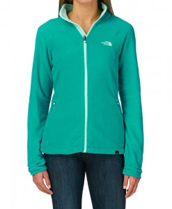 Veste Polaire zippée 100 Glacier The North Face Jaiden Green S03