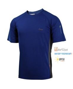 T-Shirt-Caxa-Cleanfire-Blue-Velvet-TECH