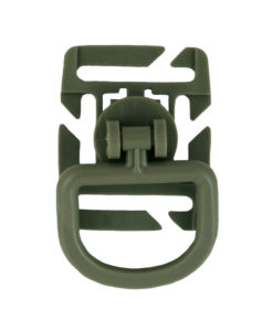 Tactical Teddy Boucle 360 Rotation D-Ring Clips MOLLE Foliage Green