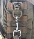 Tactical Teddy Boucle 360 Rotation D-Ring Clips MOLLE