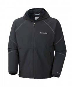 Columbia Sweet As II Softshell Hoodie Men black graphite