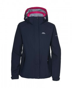 Florissant Womens Waterproof Jacket Front