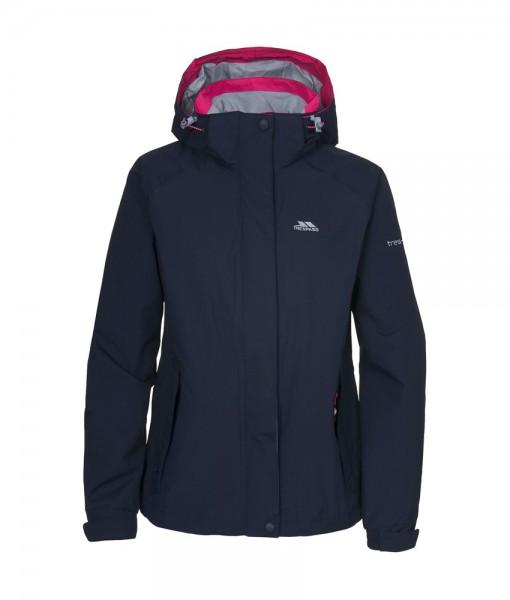 Florissant Womens Waterproof Jacket Black Iris T02