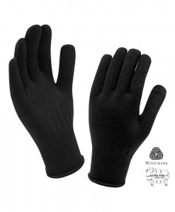 Gants Trekmates Unisex Merino Black T01