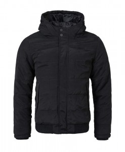 Jack and Jones Row Bomber Jacket Black