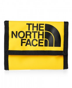 The North Face Base Camp Wallet Yellow Black TNF