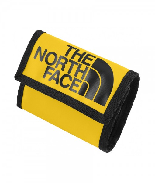The North Face Base Camp Wallet Yellow Black TNF T04
