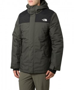 The North Face Meloro Parka Black ink Green T02
